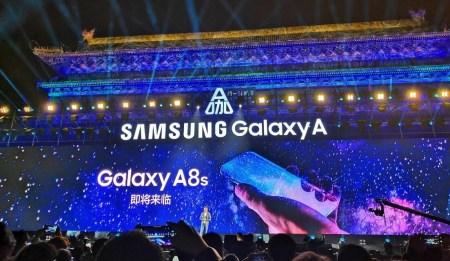 Samsung показала смартфон Galaxy A8s, который первым может получить экран с круглым вырезом под камеру