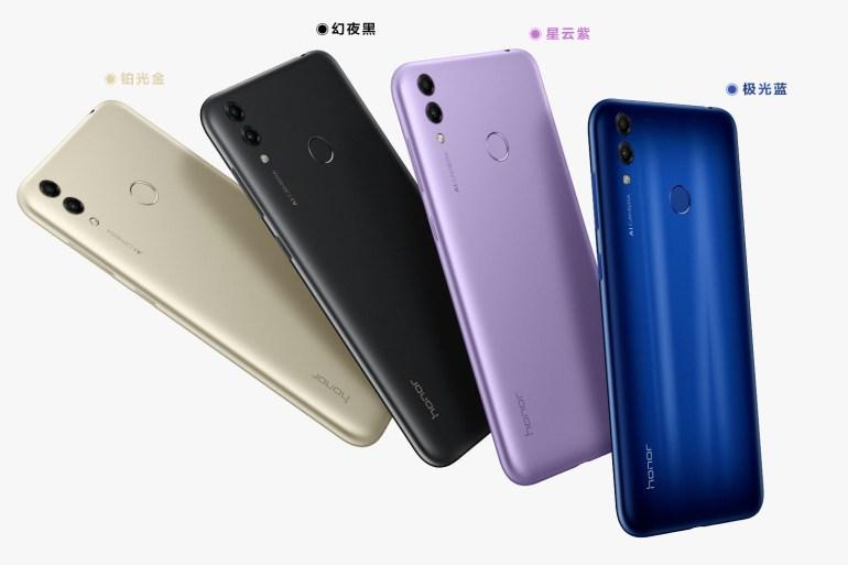 Honor 8C - первый смартфон на основе Qualcomm Snapdragon 632 получил 4 ГБ ОЗУ, батарею на 4000 мАч, двойную камеру и ценник от $160