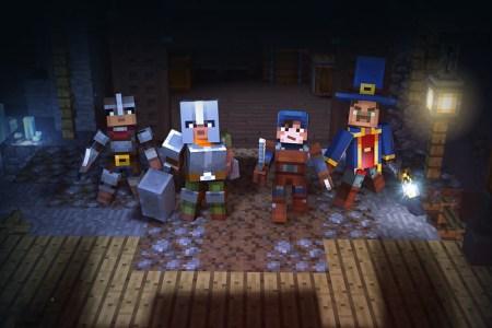 Mojang анонсировала RPG-игру Minecraft: Dungeons и выложила первый трейлер