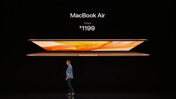 Представлен новый ноутбук MacBook Air с 13,3-дюймовым экраном Retina по цене от $1200