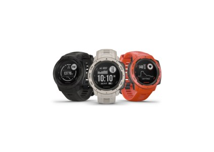 Garmin анонсировала защищённые умные часы Instinct со встроенной спутниковой навигацией и ценой $300