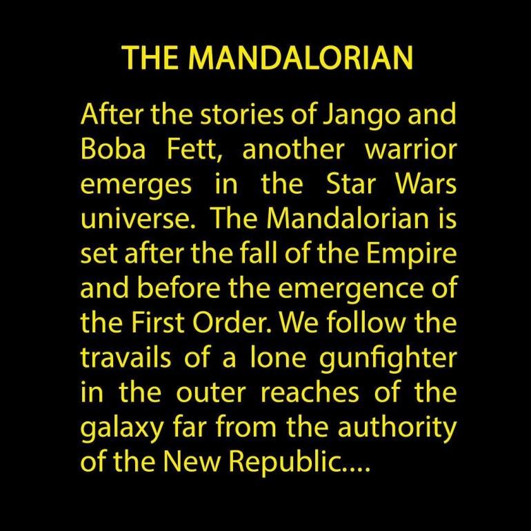 """Новый сериал Disney по вселенной Star Wars будет называться The Mandalorian / """"Мандалорец"""", Джон Фавро опубликовал синопсис проекта"""