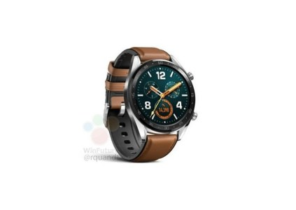 Умные часы Huawei Watch GT показались на официальном изображении