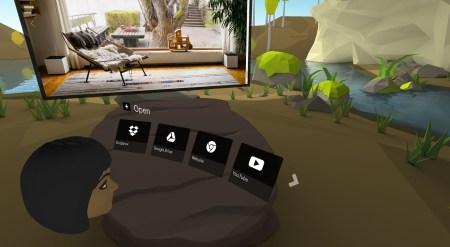 Dream представила прототип операционной системы для VR