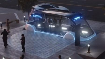 Омелян хочет соединить терминалы D и F аэропорта Борисполь с помощью… беспилотного электробуса