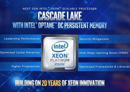 Intel анонсировала процессоры Cascade Lake Advanced Performance (до 48 ядер) и Xeon E-2100