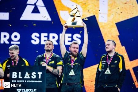 Украинские киберспортсмены NAVI победили на турнире BLAST Pro Series — Copenhagen 2018