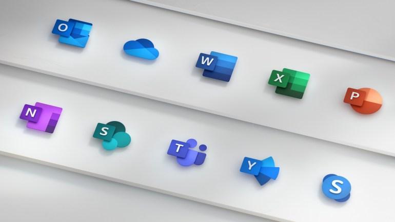 Microsoft показала новые иконки для Office, как часть более масштабного редизайна