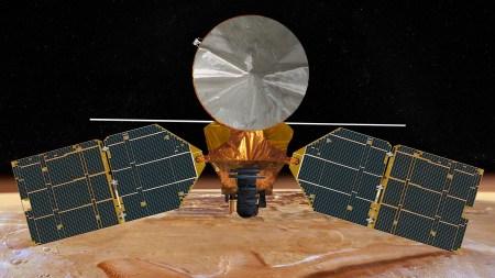 Один из инструментов аппарата Mars Reconnaissance Orbiter не совсем корректно отображал часть данных