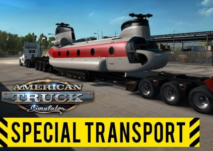 American Truck Simulator – Special Transport: размер имеет значение