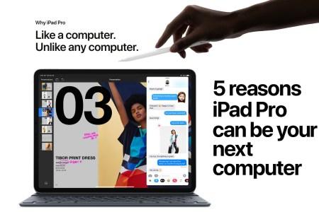 «У тебя на это пять причин»: В новой рекламе Apple доказывает, что планшет iPad Pro может стать вашим следующим компьютером