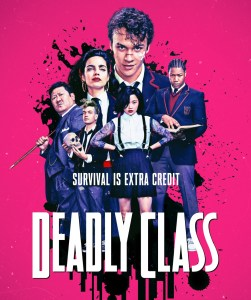 Новый трейлер сериала Deadly Class / «Убийственный класс» об элитной школе выживания для детей преступников от братьев Руссо