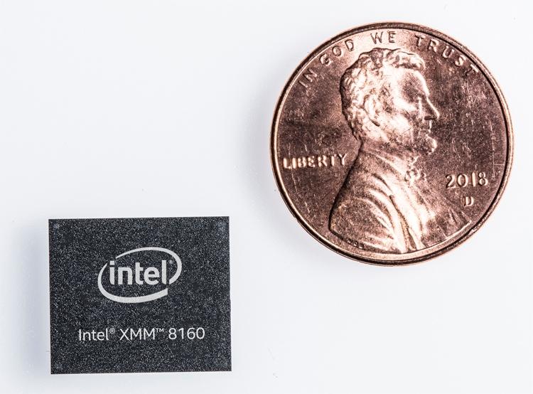 Intel анонсировала свой первый многорежимный модем 5G XMM 8160, но первые устройства с ним выйдут на рынок лишь в 2020 году