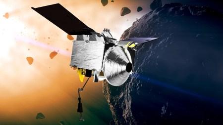 NASA завершило успешное тестирование роботизированной руки космического аппарата OSIRIS-REx в преддверии прибытия на астероид Бенну