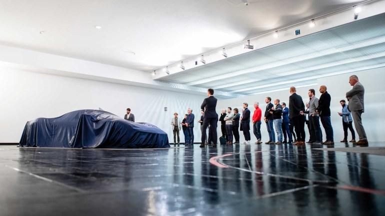 """Создатели электрического гиперкара Pininfarina PF0 (""""PF-Zero"""") за $2,5 млн опубликовали свежие изображения и пообещали представить новинку в марте следующего года"""