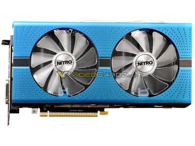 Видеокарта Sapphire Radeon RX 590 Nitro+ Special Edition позирует на фото