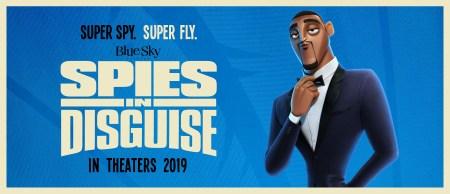 Первый трейлер шпионского мультфильма Spies in Disguise / «Камуфляж и шпионаж», в котором Том Холланд превращает Уилла Смита в голубя