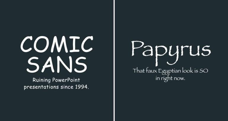 Авторы Avatar отказались от бесплатного шрифта «Папирус»