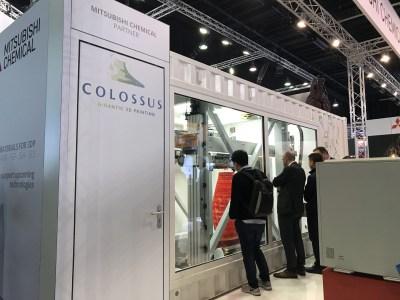 Colossus — крупнейший в мире мобильный 3D-принтер