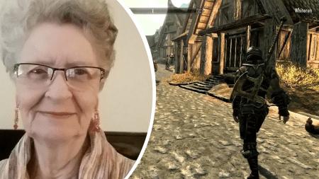 Геймеры обратились к Bethesda с просьбой увековечить в TES VI 82-летнюю бабушку, играющую в Skyrim