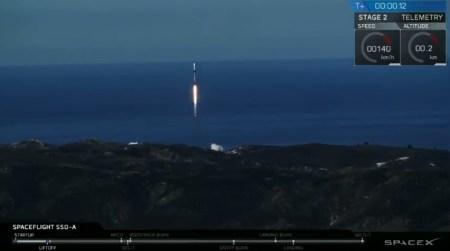 SpaceX в третий раз запустила уже дважды летавшую первую ступень Falcon 9 и снова посадила ее
