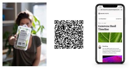 Компания Кимбала Маска Square Roots намерена предоставлять покупателям всю информацию о приобретаемых ими продуктах при помощи QR-кодов