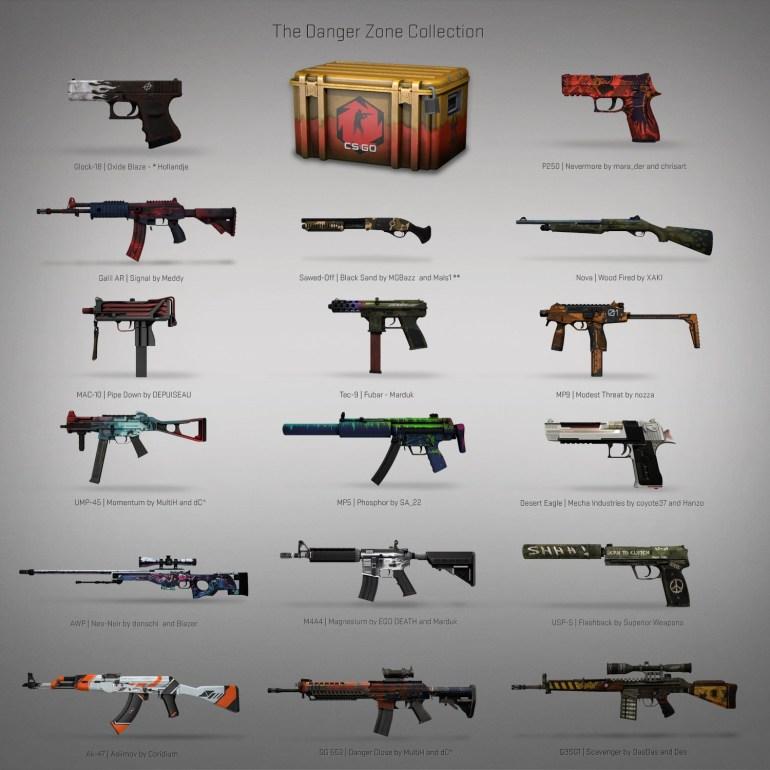 """Valve сделала Counter-Strike: Global Offensive бесплатным и запустила режим """"королевской битвы"""" Danger Zone"""