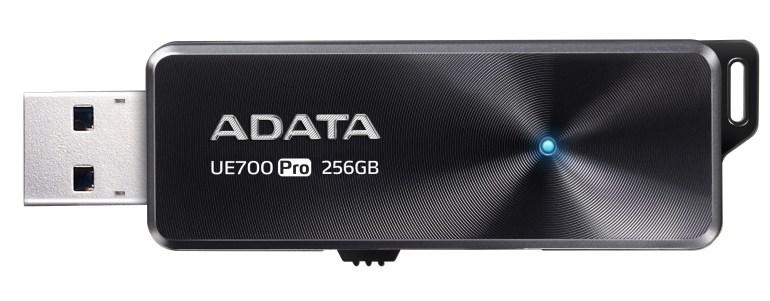 ADATA выпустила USB-флэш-накопитель UE700 Pro со скоростными показателями до 360 МБ/с