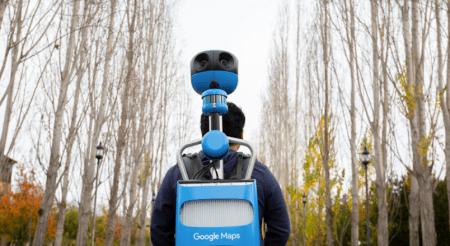 Google обновила камеру Street View Trekker для съёмки панорамных изображений улиц