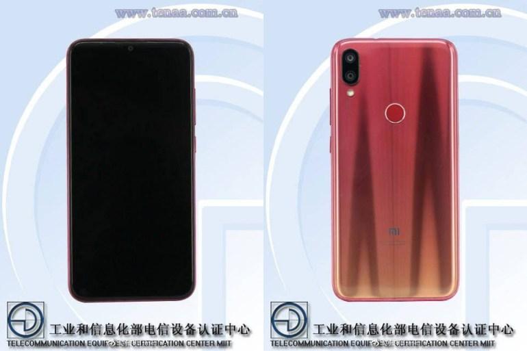 Xiaomi полностью рассекретила внешность нового смартфона Xiaomi Mi Play, который первым (среди аппаратов компании) получит каплевидный вырез в экране