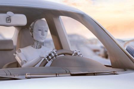 Японские инженеры представили робота-гуманоида, способного водить обычный автомобиль