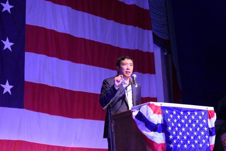 Возможный кандидат в президенты США Эндрю Ян обещает ввести БОД, чтобы сохранить спокойствие в обществе в эпоху автоматизации