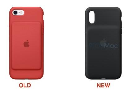 Apple разработала чехлы Smart Battery Case с более емкой встроенной батареей для новых iPhone XR, XS и XS Max и может начать продавать их еще до Нового года
