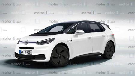 Motor1 создал рендер серийного электромобиля Volkswagen I.D. на основе фотографий с первого дорожного теста, а Fully Charged — опубликовал видеообзор