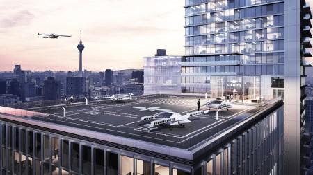 Швейцарский железнодорожный оператор намерен заручиться поддержкой летающих такси