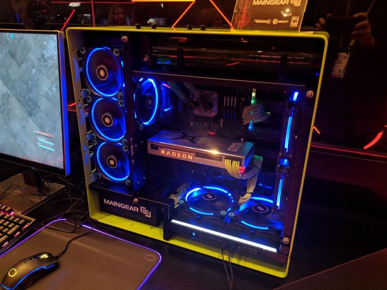 Подробные характеристики видеокарты AMD Radeon VII: частоты 1450-1750 МГц для GPU, TDP 300 Вт и отсутствие разъема USB-C (VirtualLink)