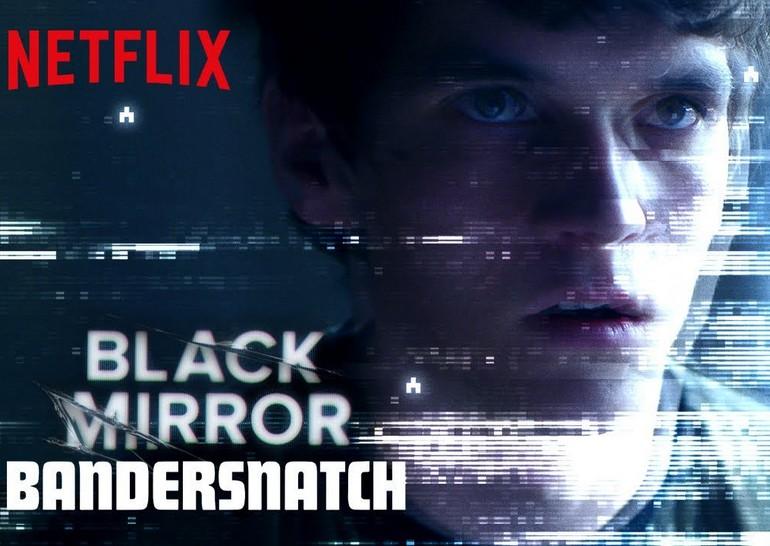 интерактивный фильм Black Mirror Bandersnatch чёрное