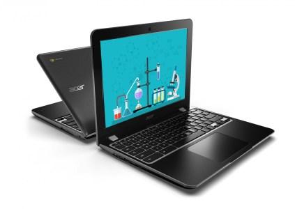 Acer анонсировала два новых Chromebook для учебных заведений