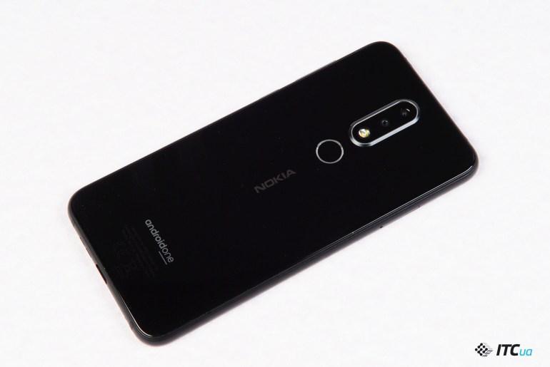 Nokia 6.1 Plus сканер