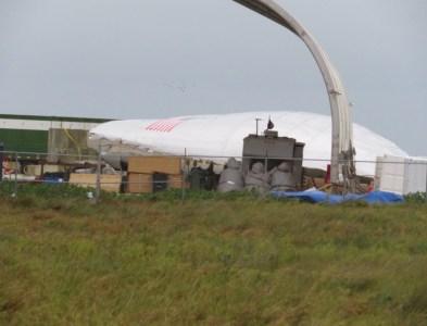 В Техасе шквальный ветер сорвал и сильно повредил головную часть тестового корабля SpaceX Starship