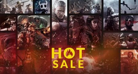 GOG запустил «Горячую распродажу» с 70% скидкой на «Ведьмак 3» и другие игры, а также бесплатной раздачей Distraint
