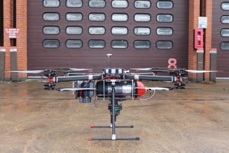 Инженеры Productiv представили работающий на водороде дрон, который способен продержаться в воздухе в шесть раз дольше электрических аналогов