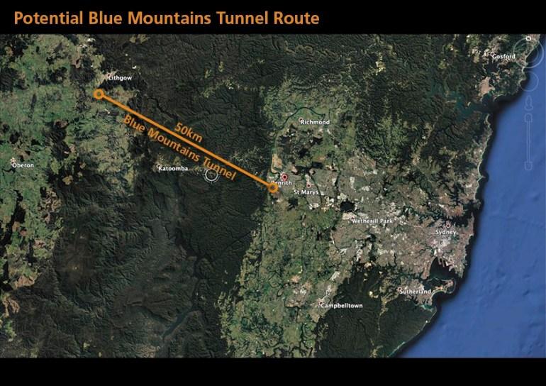 The Boring Company, возможно, пробурит тоннель для автомобилей под горным массивом в Австралии