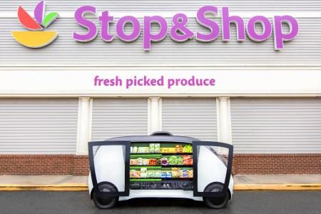 Сеть магазинов Stop & Shop готовится запустить доставку продуктов робокиосками Robomart