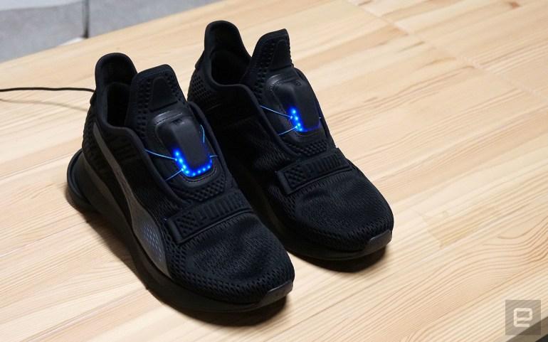 Puma представила кроссовки Fi с автоматической шнуровкой