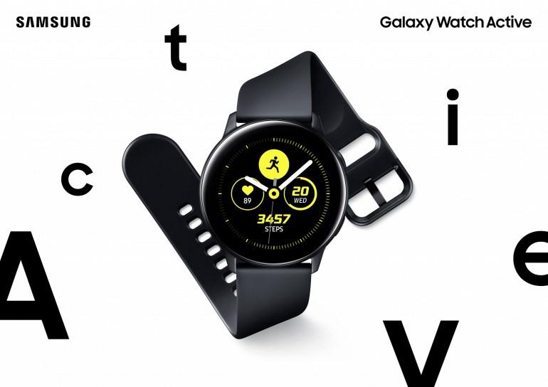 Samsung представила умные-часы Galaxy Watch Active с функцией тонометра и фитнес-браслеты Galaxy Fit / Fit e