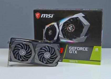 Обзор <b>видеокарты</b> MSI <b>GeForce GTX</b> 1660 Ti GAMING X 6G ...
