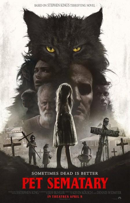 Финальный трейлер фильма ужасов Pet Sematary / «Кладбище домашних животных» по книге Стивена Кинга