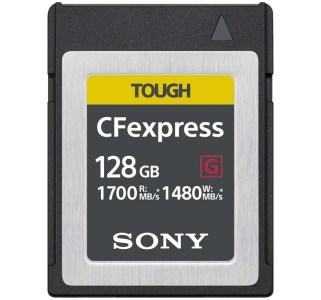«До 1700 МБ/с при чтении и 1480 МБ/с при записи»: Sony анонсировала карты памяти CFexpress Type B