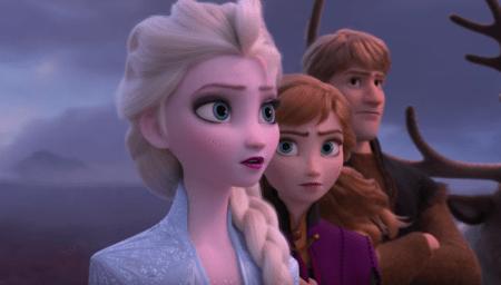 Принцесса Эльза пытается бежать по волнам в первом тизере мультфильма Frozen 2 / «Холодное сердце 2»
